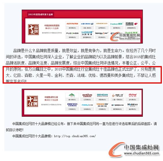 """【新浪家居】2015集成灶十大品牌引围观,新浪家居来""""助阵"""""""