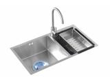 欧诺尼厨电-8550挡水单盆