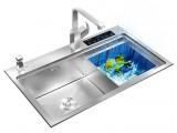 配套荣事达品冠集成水槽WS820 一体嵌入式集成水槽带洗碗机