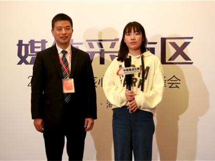 优格总经理黄少华先生接受中国集成灶网采访