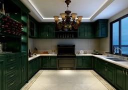普森集成灶最新厨房整体装修图实例