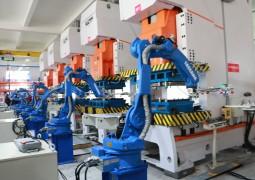 佳歌集成灶208品牌战略首发仪式——参观工厂