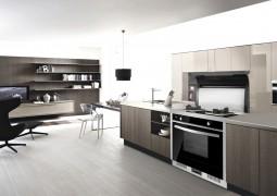 品格集成厨电厨房装修效果图,品格集成灶安装效果图