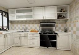 北斗星集成灶A6系列整体厨房装修效果图