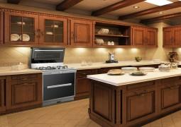 火星一号集成灶整体厨房装修效果图