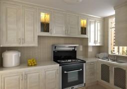 森歌集成灶欧式风格厨房装修效果图,森歌集成灶装修效果图 (9)