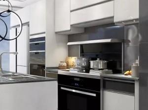 厨壹堂分享三款美观又实用集成灶整体装修图