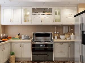 至厨集成灶与现代整体厨房装修效果图