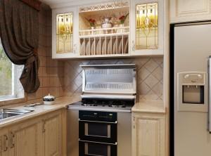 美盼集成灶现代风格整体厨房装修图