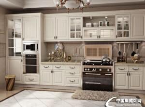 时哥整体厨房模压系列装修效果图