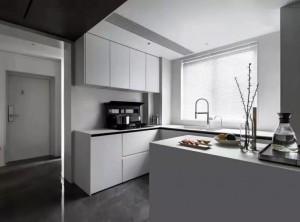 圣鸽分体式集成灶与厨柜融于一体,分体式集成灶效果图