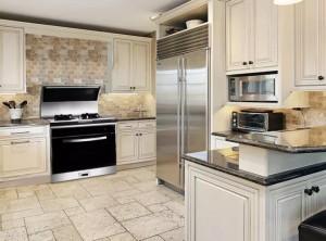 5款不同风格厨房装修风格配火星一号集成灶效果图