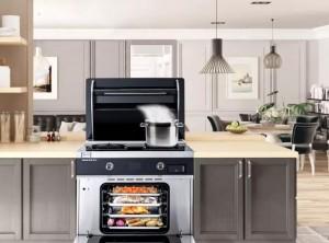 帅丰集成灶把6平米厨房装修出60平的豪华感
