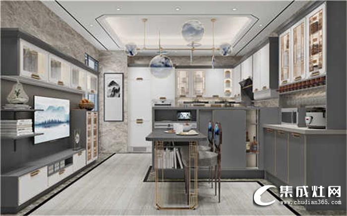 风格迥异的厨房,就爱箭牌新中式!