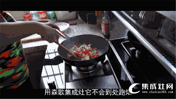 成就开放式厨房,从森歌集成灶开始
