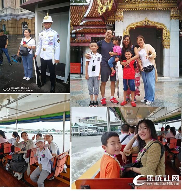 优格集成灶2019携客户朋友泰国游完美结束!期待下次更精彩的旅程