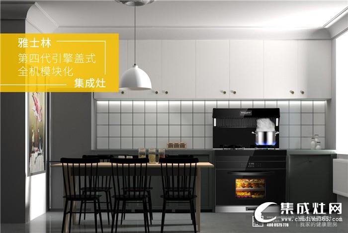 """雅士林集成灶荣获""""全国集成灶行业质量领先品牌""""!为消费者提供健康厨房生活"""
