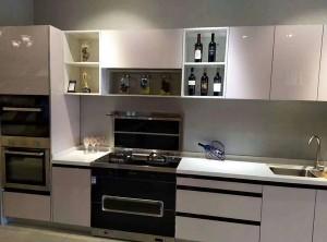莫森集成灶整体厨房装修效果图