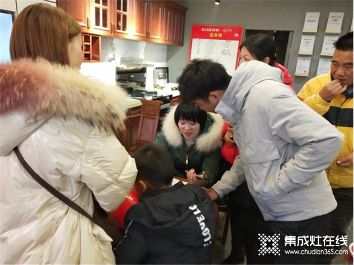 佳歌集成灶新邵专卖店开业,提高品牌高度与影响力!