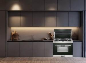 乐格集成灶整体厨房装修效果图