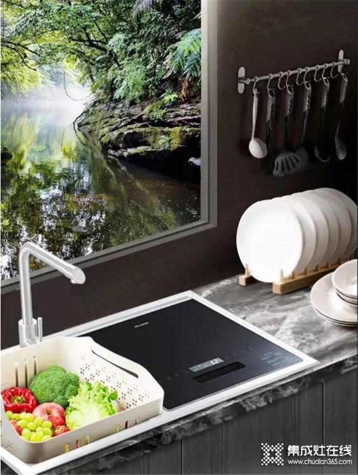 """力巨人水槽洗碗机,让未来厨房更""""净""""一步的神器!"""