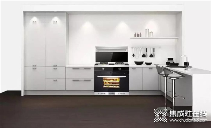 """尼泰N18606蒸烤消一体集成灶,它就是厨房中""""无所不能""""的小帮手!"""