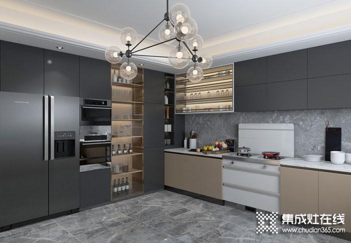奥田整体厨房2020最新效果图赏析(三)