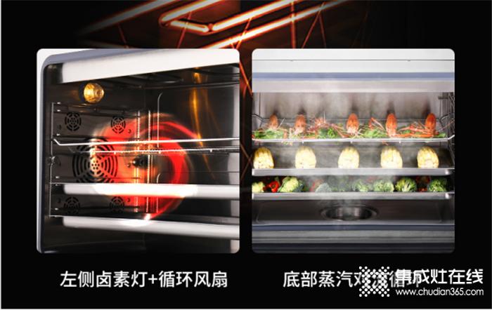 """欧诺尼集成灶蒸烤一体系列:厨房小白如何一键成大厨,""""蒸烤""""二字帮助你!"""