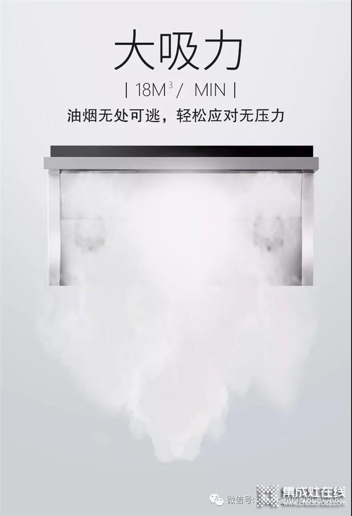 """品格最具野心的""""双力""""计划,让大家感受大吸力与大火力集成灶所带来的厨房改变"""