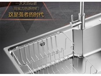 厨房水槽大小选择多大的比较合适呢?