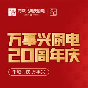 千城同庆 万事兴厨电20周年庆典启动会