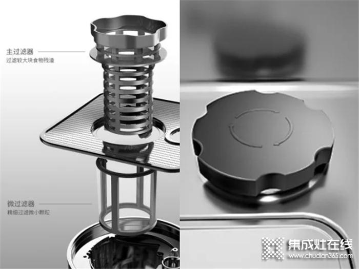 亿田洗碗机集成水槽XE91,有效解决下水道堵塞烦恼!