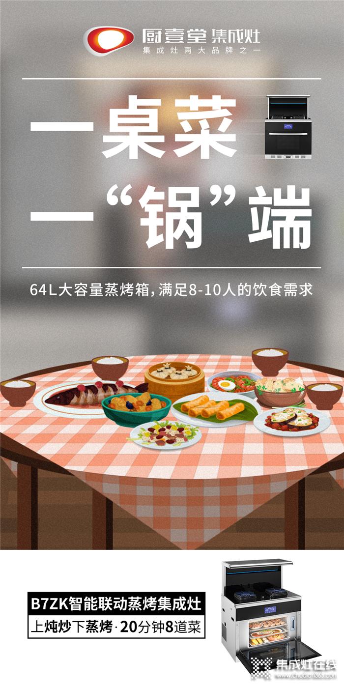 不会做饭别担心,厨壹堂集成灶让你秒变大厨!