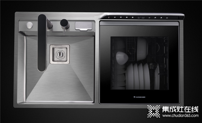 火星人U6水槽洗碗机,年轻人的厨房新选择!
