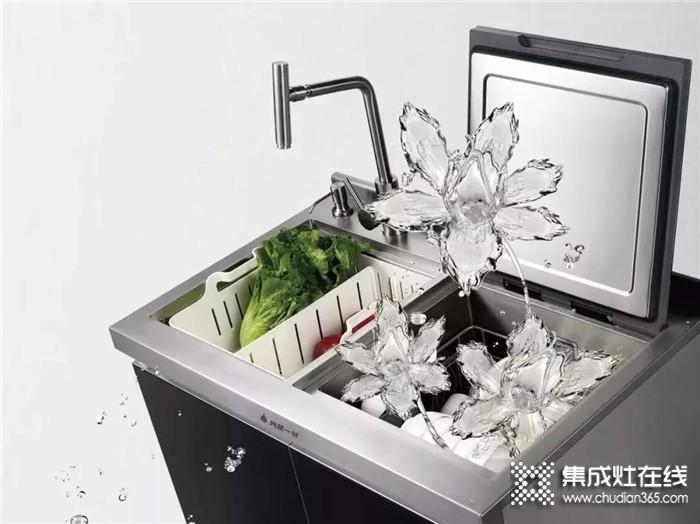火星一号集成水槽洗碗机,既是水槽,更是洗碗机