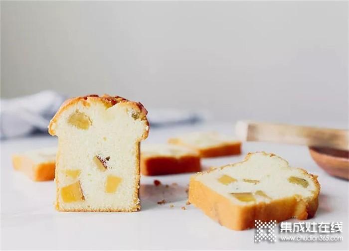 用奥帅集成灶制作的番薯蛋糕,给你大大的满足感