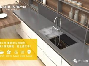 雅士林水槽洗碗机厨房装修效果图