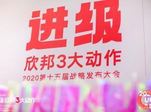 进级·欣邦3大动作2020第十五届战略发布大会2