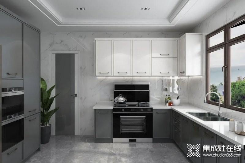 奥田厨房装修实例:都市精英的气质空间