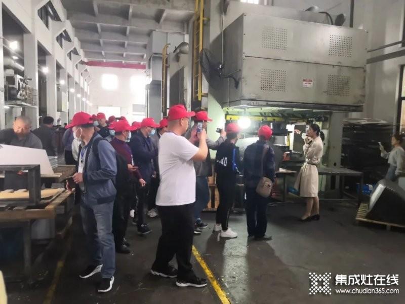热烈欢迎玉立烟台团队参观工厂!_5