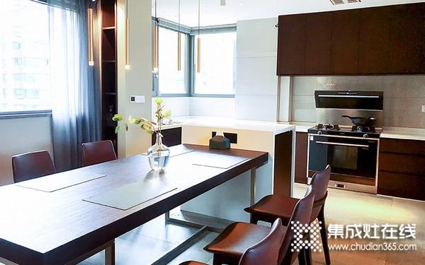 北斗星集成灶A6系列产品图,厨房整体效果图