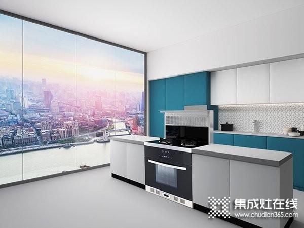 厨壹堂集成灶Q2Z系列产品效果图