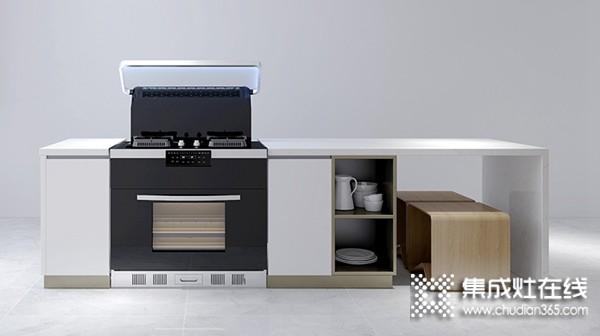 厨壹堂集成灶B8ZK系列产品效果图,厨房装修图