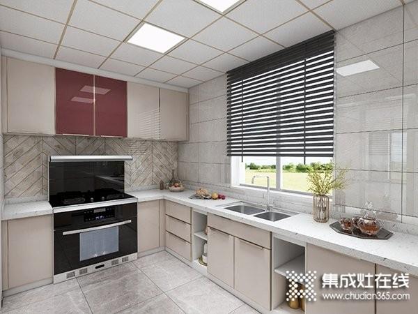 厨壹堂集成灶B7Z系列整体厨房效果图