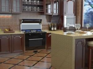 德西曼集成灶产品图片,厨房装修效果图