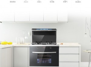 科大蒸烤一体集成灶产品图片,现代简约风格效果图