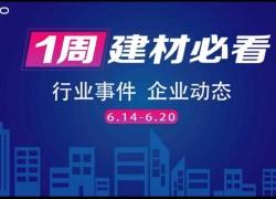 6月第三周,建材行业资讯,解锁行业趋势,纵览市场动态! (813播放)