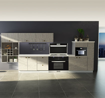 莫尼集成灶2021厨房最新效果图